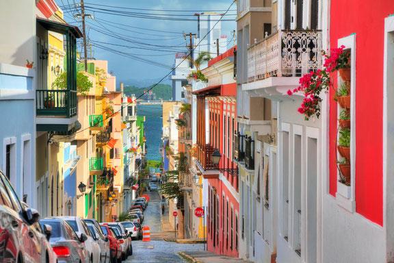 San Juan Puerto Rico, Karibik, Karibische Inseln