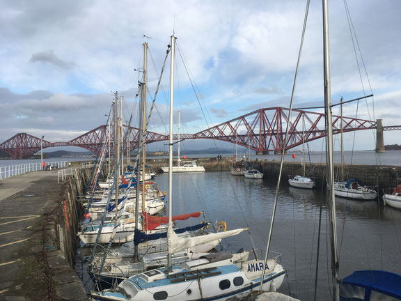 The Forth Bridge as seen from South Queensferry