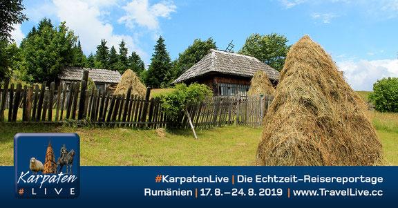 #KarpatenLive - Reisebericht aus Rumänien, 17.8. - 24.8.2019