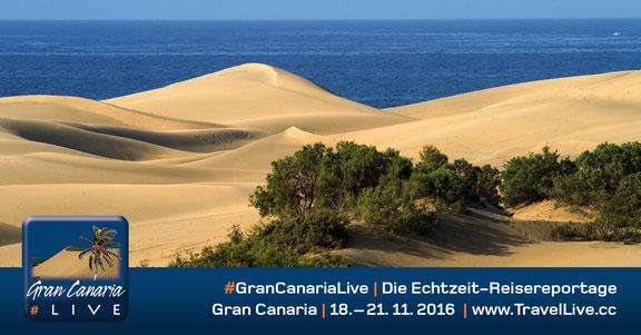 #GranCanariaLive - Reisebericht aus Gran Canaria, 18.11. - 21.11.2016