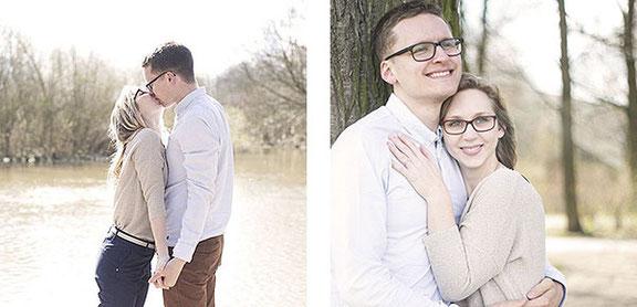 Romantische Paarfotos fotografiert die Fotografin Daniela aus Osnabrück