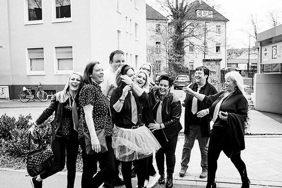 Wir fotografieren dein Junggesellinnen Fotoshooting in Osnabrück