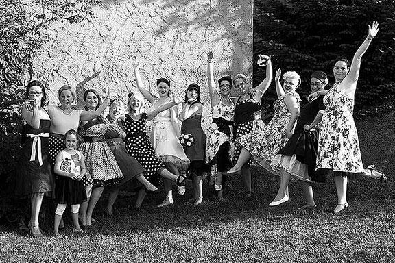 Gruppenfoto auf der Hochzeit in Recke bei Osnabrück