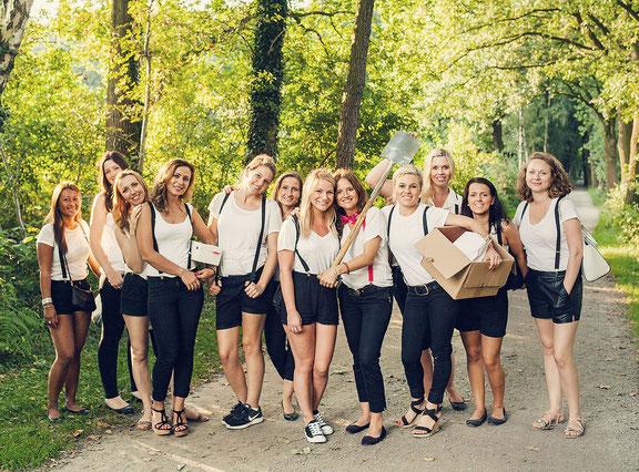 Fotoshooting beim Junggesellinnenabschied im Fotostudio Osnabrück