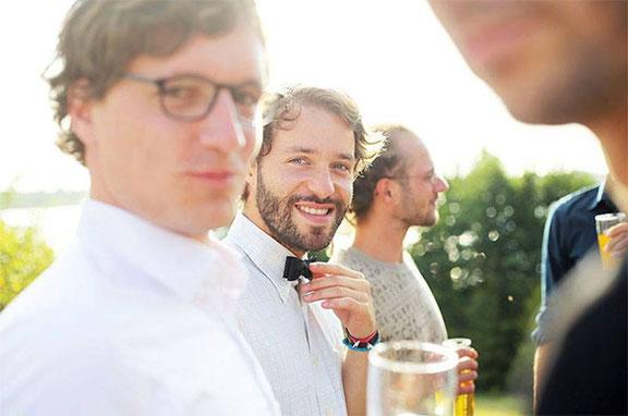 Hochzeitsfotograf fotografiert Hochzeitsfeier in Leipzig