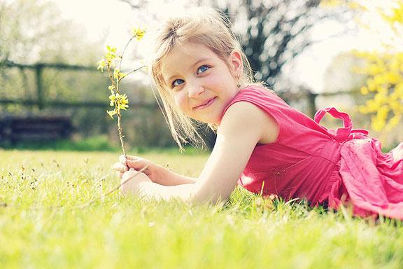Schöne Kinderfotos als Geschenk für die Großeltern