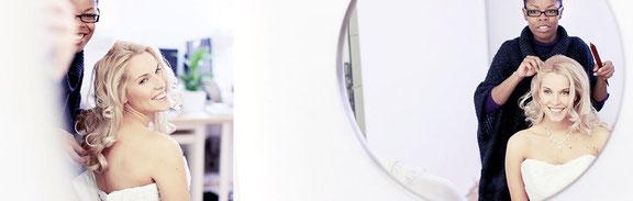 Eine Stylistin für Haare und Make Up kann für dein Fotoshooting in Osnabrück gebucht werden
