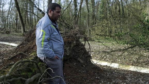 Karim Ben Ali, 36 ans, père de trois enfants, chauffeur de poids lourds depuis ses 19 ans, est actuellement sans travail et au RSA.