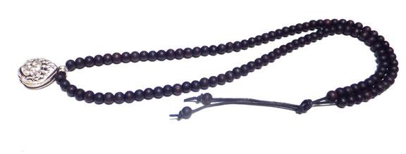 Malakette for men Amulett mit Geheimfach Holzkette
