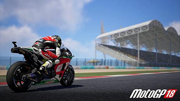 MotoGP 18 - Die Grafik