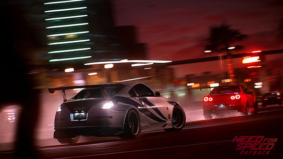 Need for Speed: Payback - Grafik