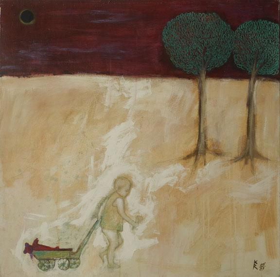 Lilith Dunkelmond II, 2009, 100 x 100 cm
