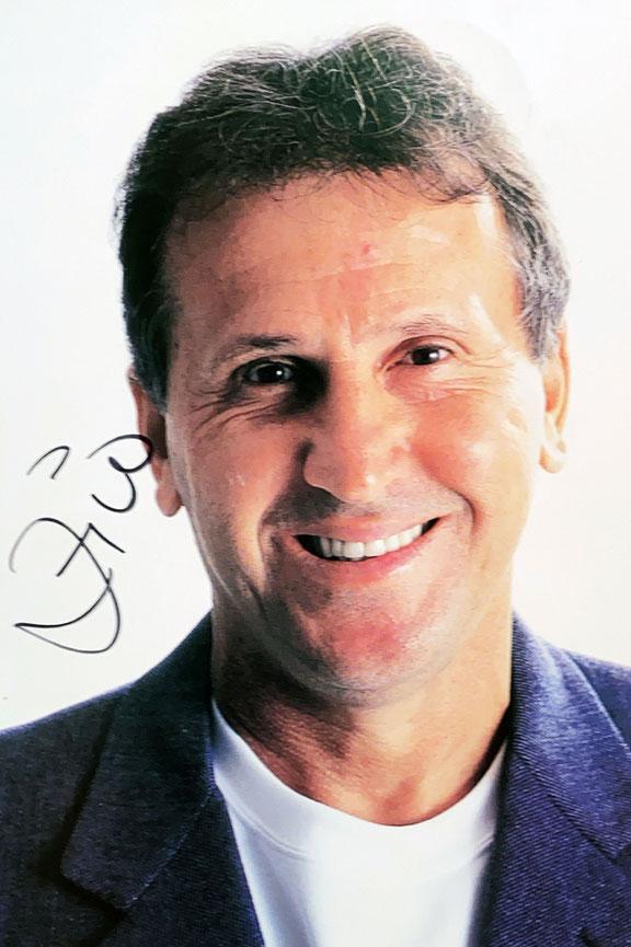 Autograph Zico Autogramm