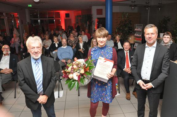 Wolfgang Tramp, Jana Henning, Nico Schulz; Foto: Nico Maß