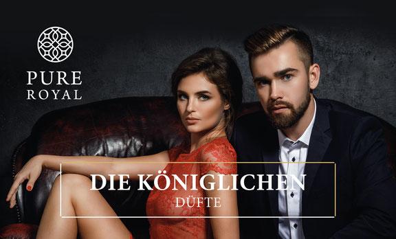 PURE ROYAL Kollektion Damen Parfüm für die Frau Königlich Luxus FM-World Parfumboss