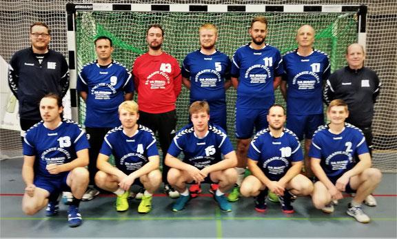 Mannschaftfoto Herren 2 HSG Hörstein/Michelbach