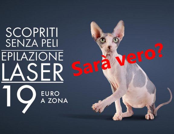 epilazione laser prezzo