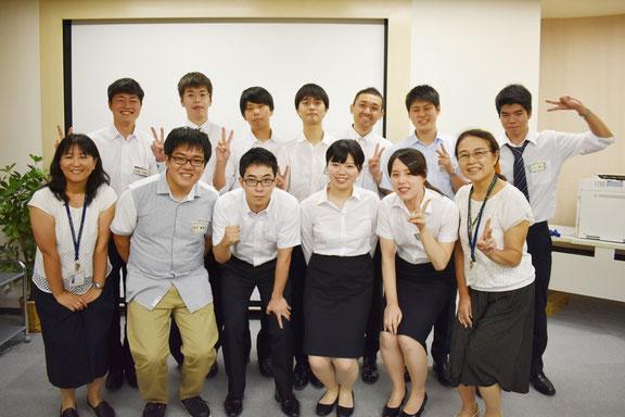 参加者11名と講師