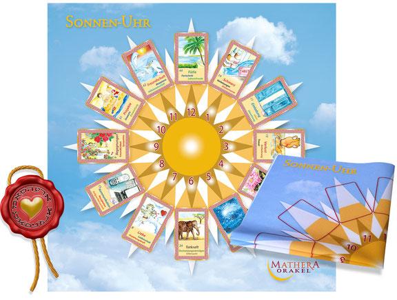 Orakelkarten und der MATHERA Sonnenuhr für spezielle Fragen in die Zukunft