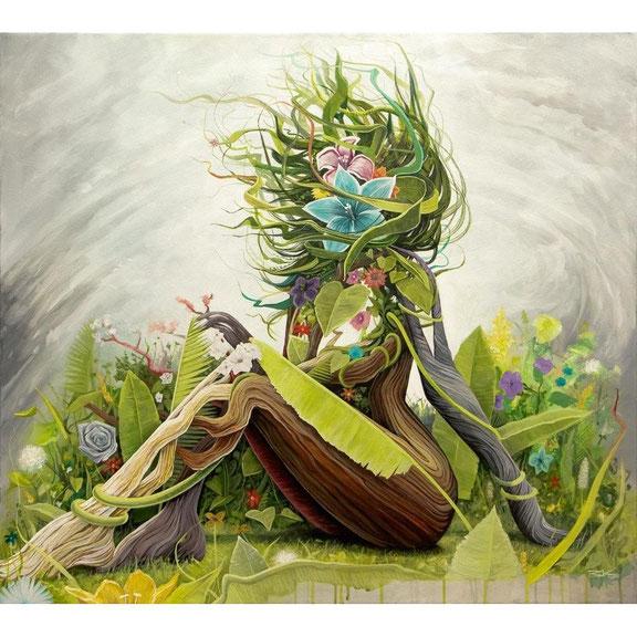 Painting: EARTH (#2) by Brian Kirhagis