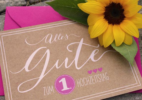 Zum Ersten Hochzeitstag Gratulieren Wunderschöne Sprüche