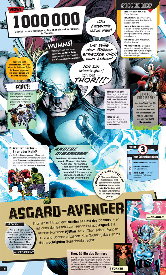 Marvel Bücher - Absolut Alles Was Du Wissen Musst - Dorling Kindersley - kulturmaterial - Thor