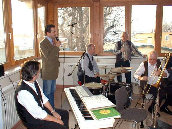"""New Orleans in Wien-Favoriten: die famose """"Original Storyville Jazzband"""" zu Gast bei der Jubiläumsfeier im Löblich Werk"""