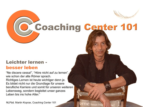 Martin Koprax, NLPäd. Lerncoach im Coaching Center 101