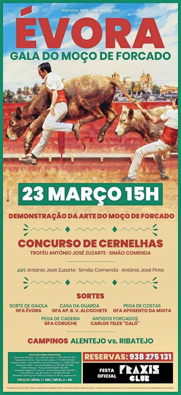 Concurso de Cernelhas 23 Março - Évora.