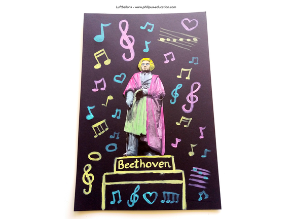 projet artistique Ludwig van Beethoven (allemand au cycle 2)