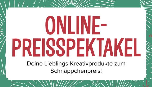 Online-Preisspektakel von Stampin´Up! im November 2017