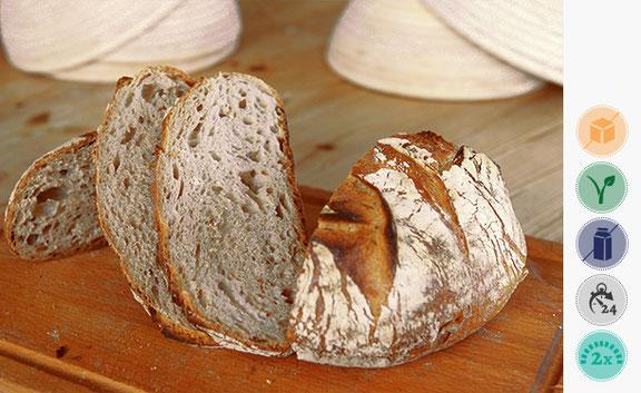 Rudolf's Brot, Weizenmischbrot