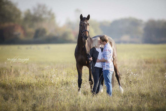 Kuschelshooting Pferd, Paarshooting