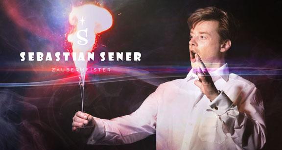 Zauberer Gelnhausen - Sebastian Sener ist in seinen Shows in direktem Kontakt mit dem Publikum – close-up vom Feinsten. So kann er direkt auf jeden einzelnen Gast reagieren, mit ihm lachen und ihn mit seiner Zauberei garantiert in Staunen versetzen.