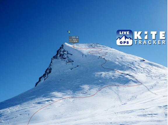 Ozone Snowkitemasters 2013 und Kitetracker