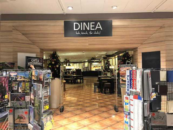 DINEA Restaurant im Kaufhof Kempten
