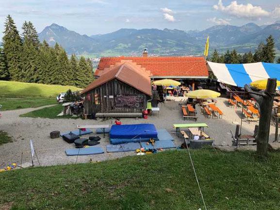Hochbichlhütte Sofahütte Kanapeehütte