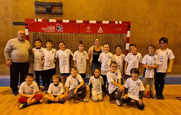 Photo Handball Club Roquemaurois - équipe de moins de 11 ans