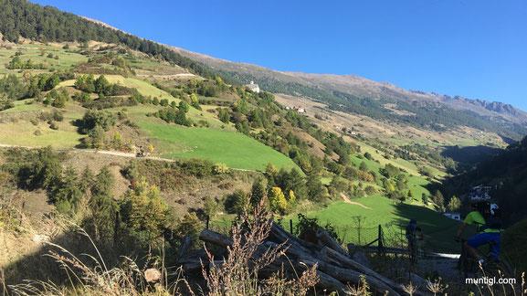 das Matscher Tal... hier gehts 10KM zurück zur Oberetteshütte (2670m)