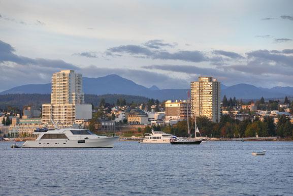 Nanaimo Harbour Vancouver Island BC