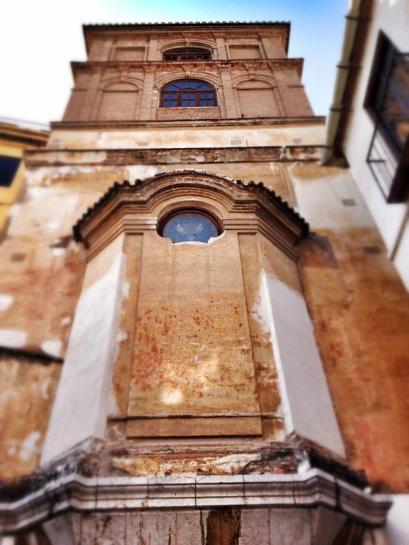 Parte posterior de iglesia de San Agustín