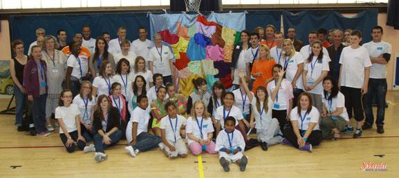 Un bel esprit d'équipe ... Organisation des championnats nationaux équipes 2012 à Massy