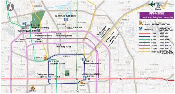 Tsinghua University Campus Map.Campus Map Of Tsinghua Qinghua University Spsd International