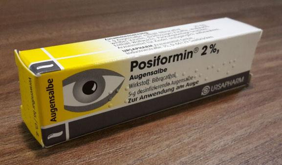 Posiformin Augensalbe (Sicca Syndrom, Trockene Augen)