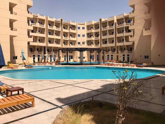 www.apartmentsinhurghada.com - Rental Apartments in Hurghada - Tiba Resort Hurghada