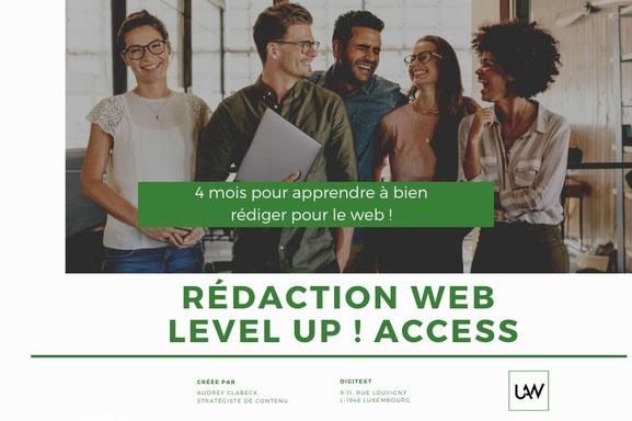 Formation rédaction web level up !