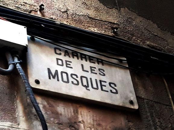 Улица мух - самая узкая улица в Барселоне