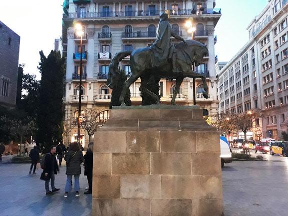 Уличное исккусство Барселоны. Скульптуры Барселоны