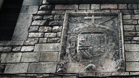 Герб инквизиции в Барселоне