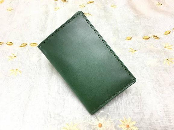 革の手帳カバー(再現リメイク)